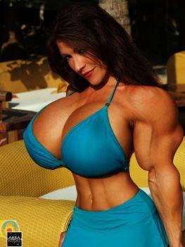 mae akers morph Brandi muscle