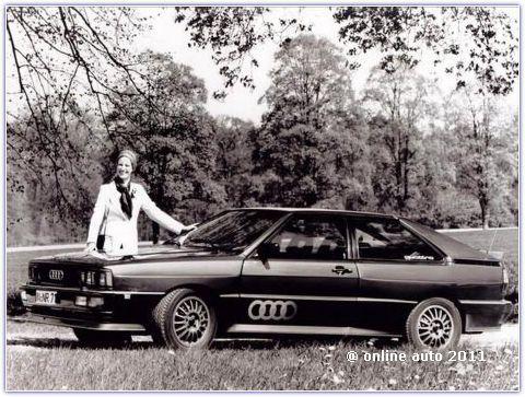 Audi Quattro Coupe, 1980