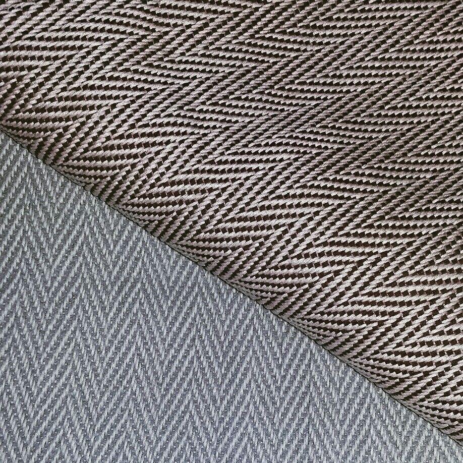 Tecido de linho e algodão feito a mão 2016.