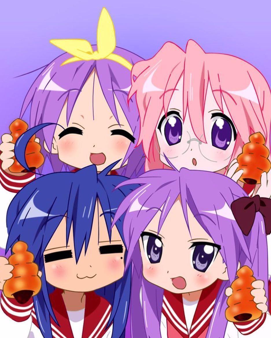 Pin By Rinaren Rin On Life In 2020 Anime Lucky Star Kawaii Anime