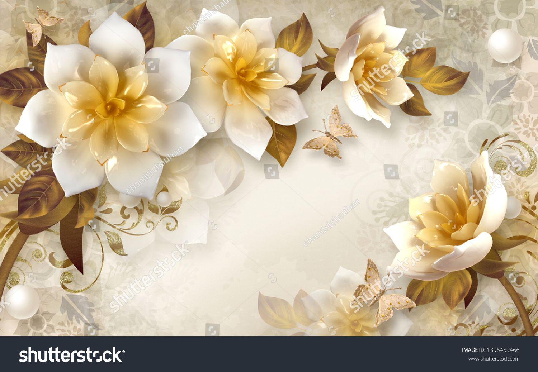 3d Flower Wallpaper 3d Background Illustration Sponsored