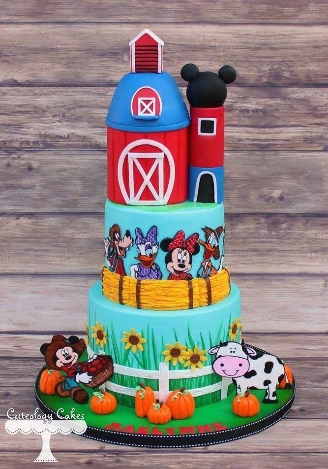 Torta granja Disney