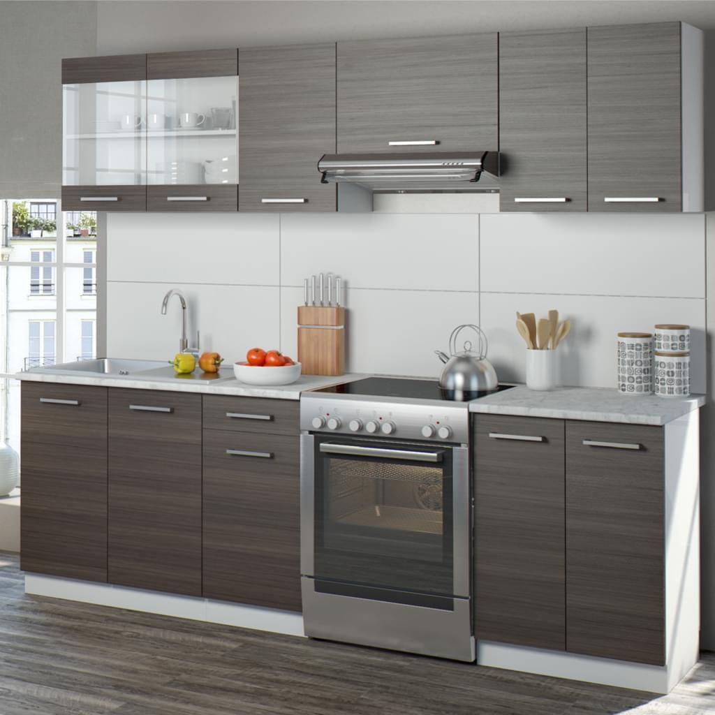 Vicco Küche Raul Küchenzeile Küchenblock Einbauküche 240