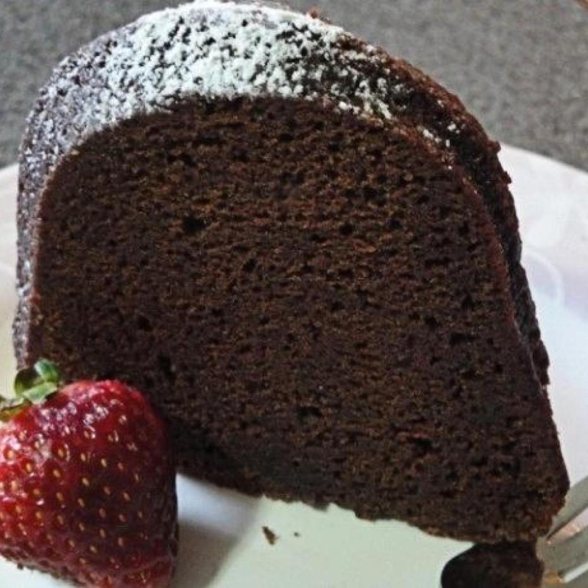 Jamaican Mocha Rum Cake