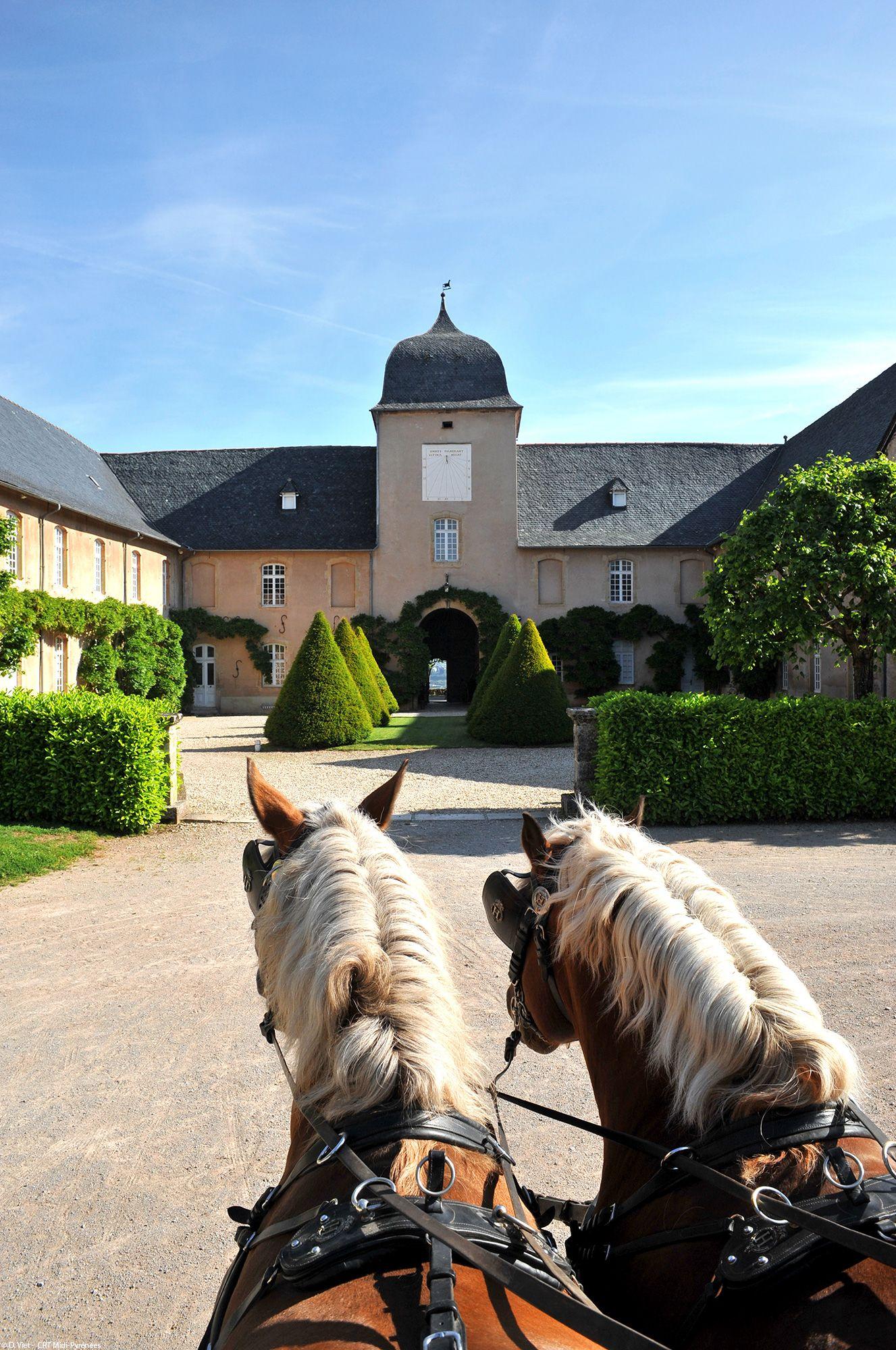 Aveyron Le Paradis Des Cavaliers Aveyron Pont De Millau Les Regions De France
