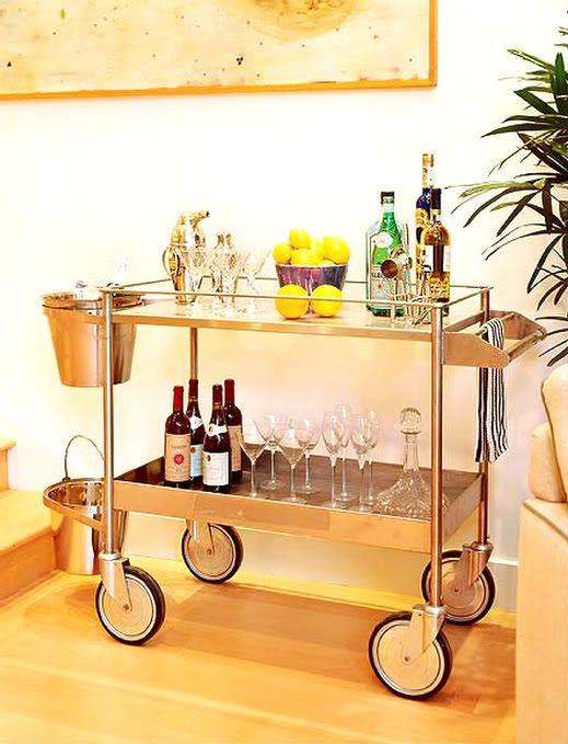 Everyone needs a good bar cart