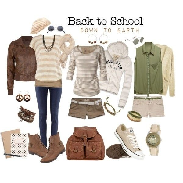 543a3e372f01 Fabulous School Outfit Ideas for Teenage Girls 2018