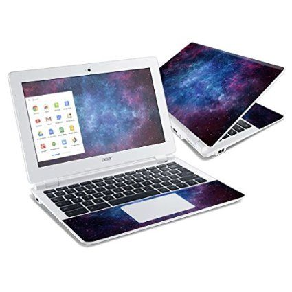 MightySkins Skin Compatible with Acer Chromebook R11 Screen case wrap Cover Sticker Skins Stone Waves