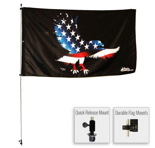 Your World Wide Leader In Safety Flags And Flags For Your Atv In 2020 Flag Atv Rzr