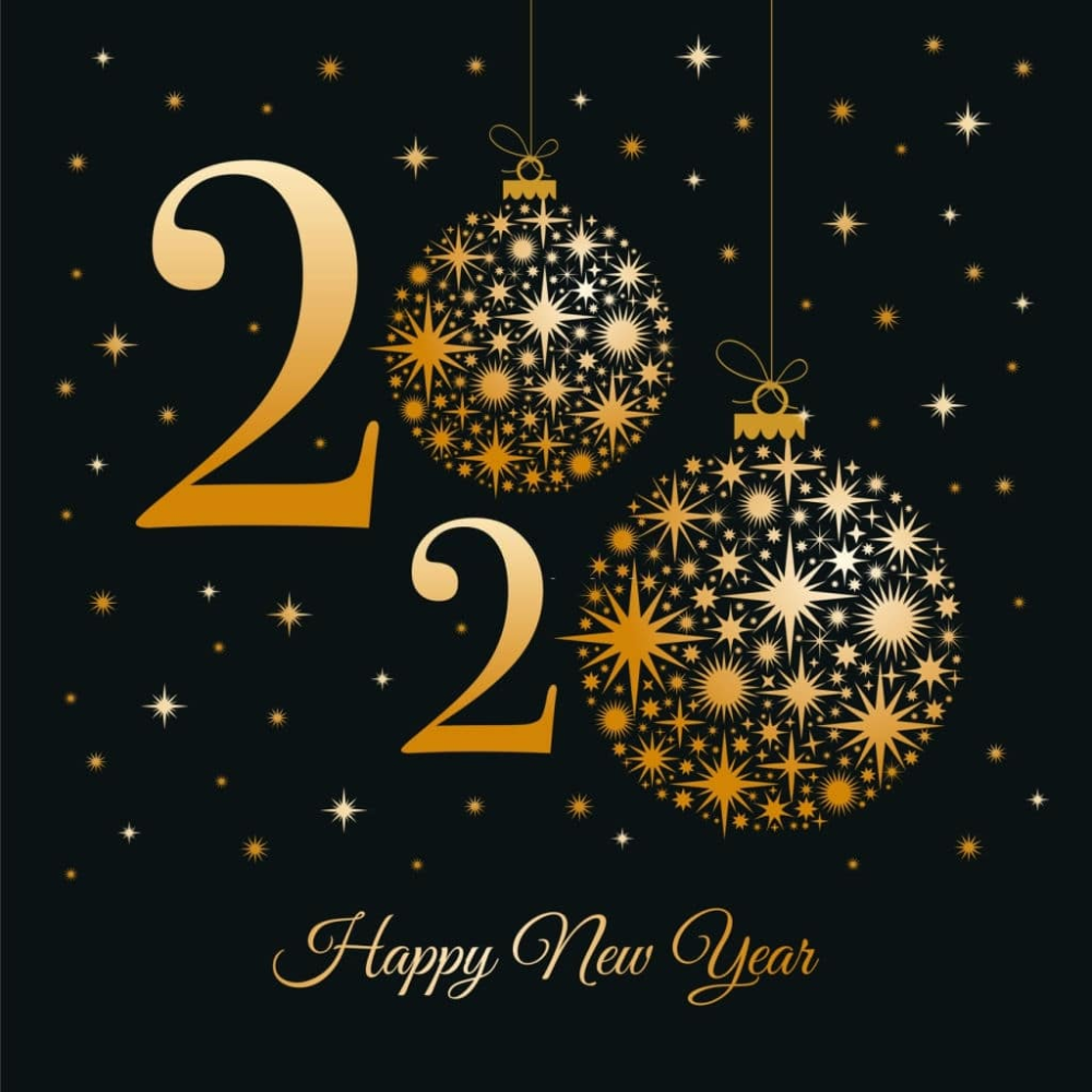 Merry Christmas 2020 Images Happy New Year 2020 Wallpapers Happy New Year Greetings Happy New Year Pictures New Year S Eve Wishes