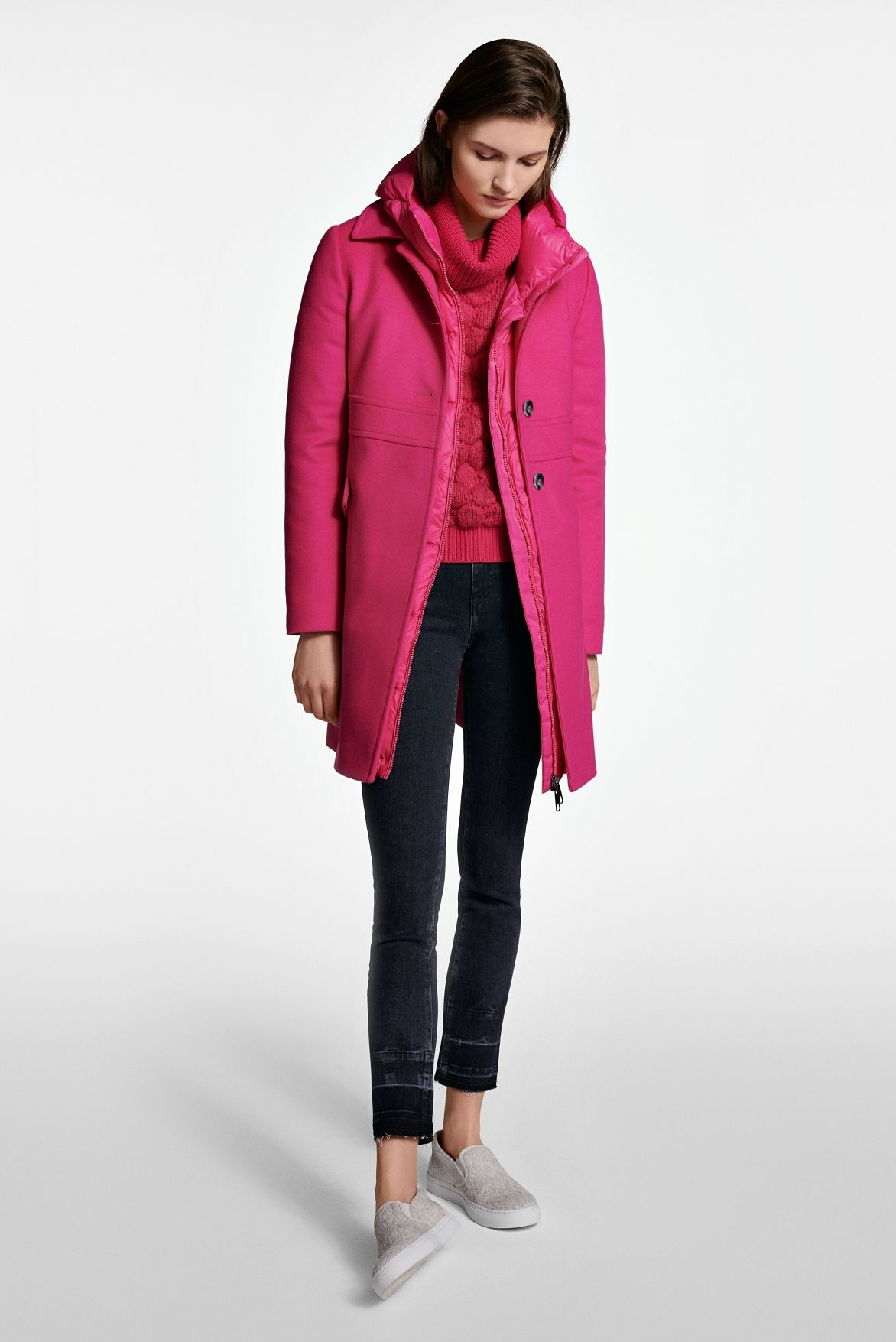 The Boss Womenswear Fall Winter 2018 Collection Ladies Blouse Designs Women Wear Fashion [ 1755 x 1172 Pixel ]