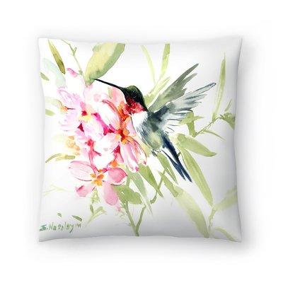 East Urban Home Hamersville Suren Nersisyan Img Throw Pillow In 2021 Throw Pillows Flower Throw Pillows Floral Throw Pillows