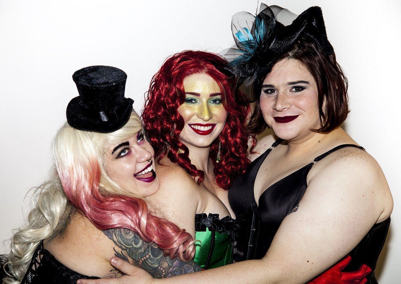Lesbian tranny surprise