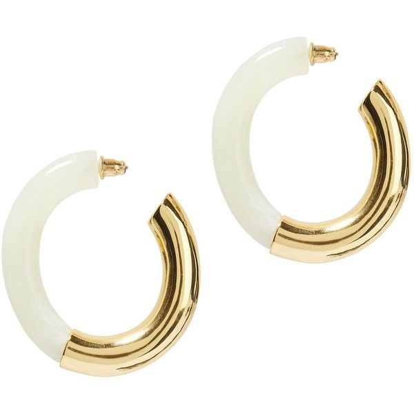 Lizzie Fortunato Summer of Love Hoop Earrings E3UJM9I7