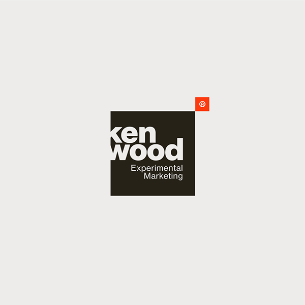 Kenwood Experimental Marketing On Inspirationde Marketing Logo Design Graphic Design Logo Logo Inspiration Negative Space