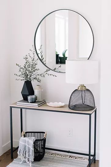 Entryway Ideas: Declutter Your Front Entry. #minimalistentryway #declutter #mini #entrywayideas