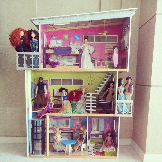 my modern dollhouse kidkraft dollhouse dollhouses 1 6 scale