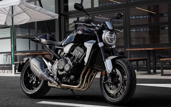 Download Wallpapers Honda Cb1000r 2018 4k Japanese Motorcycle