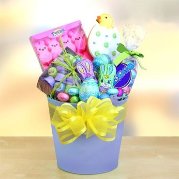 Easter baskets easter treats bunny chocolate gifts from peoples easter baskets easter treats bunny chocolate gifts from peoples flowers negle Choice Image