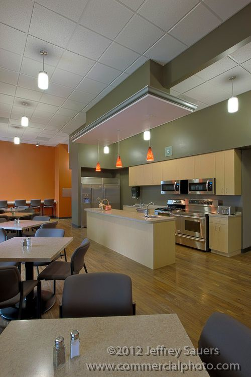 Corporate office kitchen office pinterest offices for Office kitchenette design