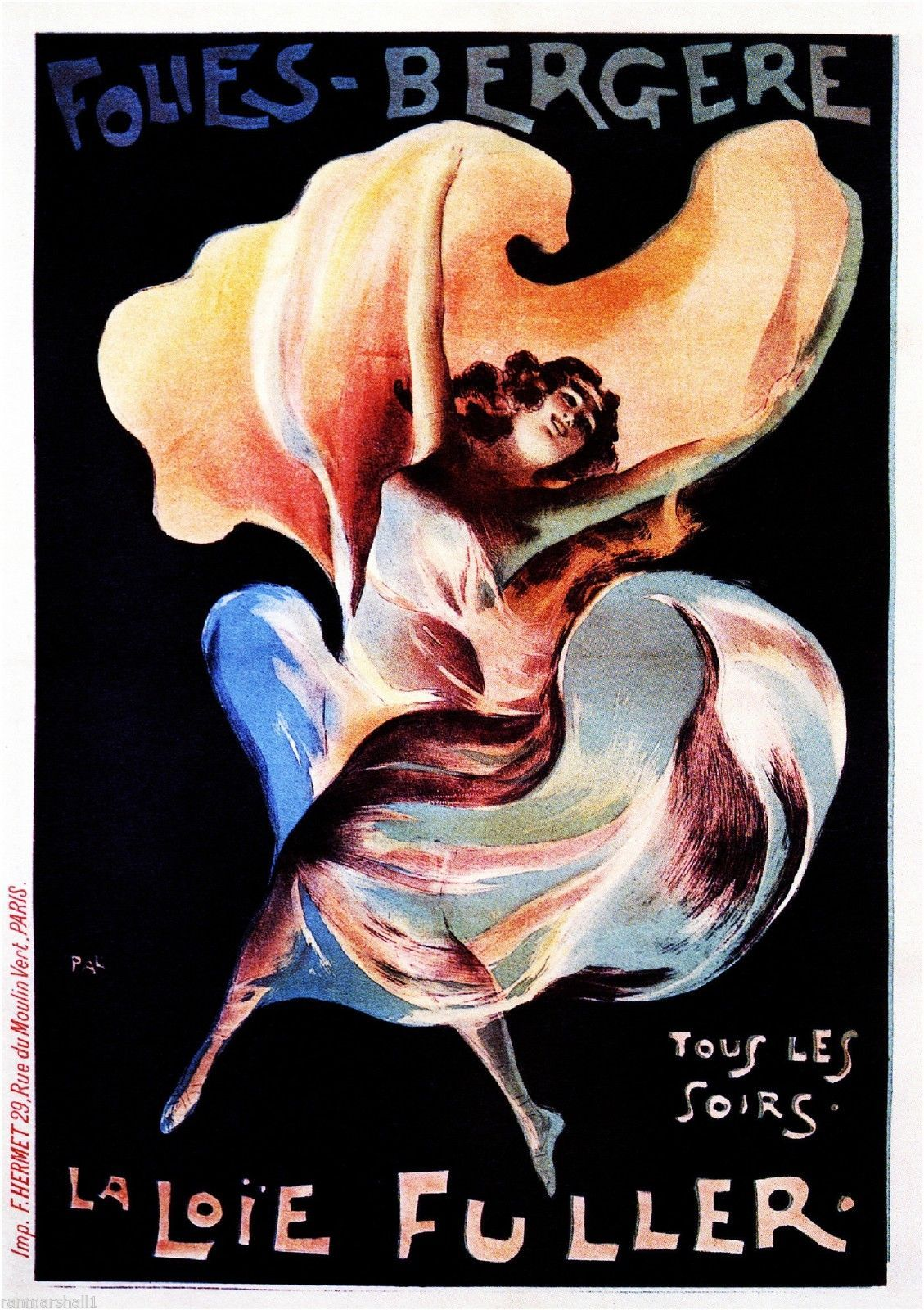Ecstasy Old Theatre Advert Poster reproduction