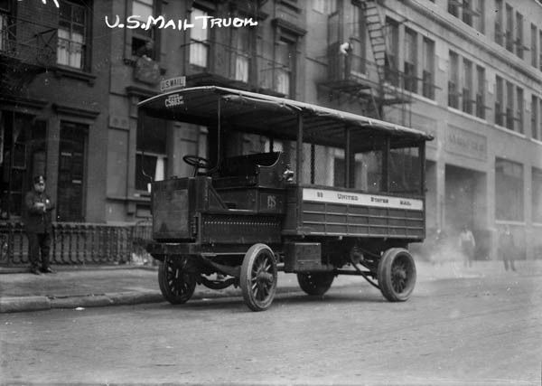 Car Manufacturers Early 1900s Mail: Early 1900s Us Mail Delivery Truck Photo
