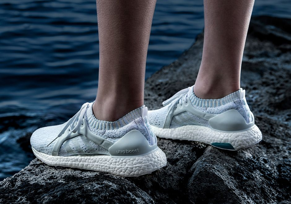 adidas ultra boost parley white and icy blue
