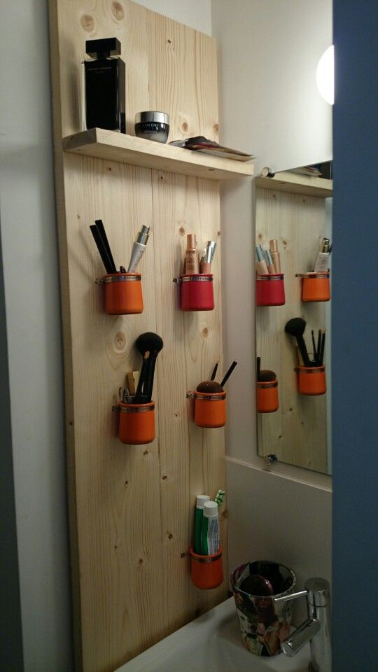 rangement salle de bain in progress diy box bricolage. Black Bedroom Furniture Sets. Home Design Ideas