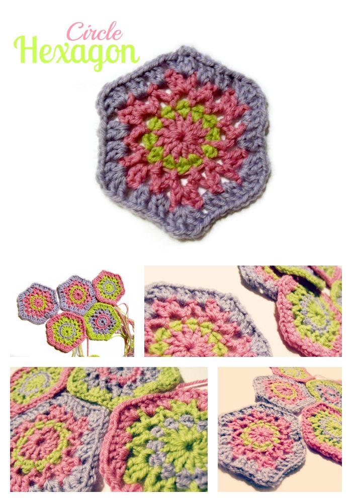 Circle Hexagon Granny