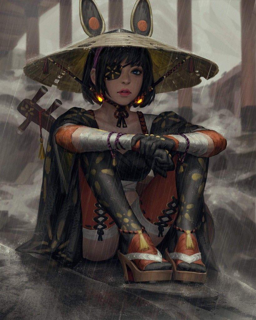 Épinglé par 綺羅 可可 sur 武士 Art numérique, Personnages