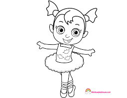 Image Result For Spring Vampirina Print Coloring Pages Halloween Coloring Pages Ballerina Coloring Pages Coloring Pages