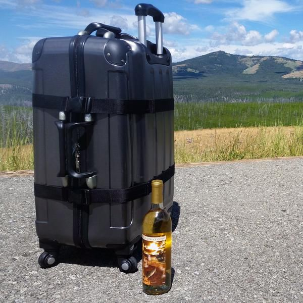 A Traveler S Gift Guide Giveaway Wine Bottle Design Wine Country Gift Baskets Wine Carrier