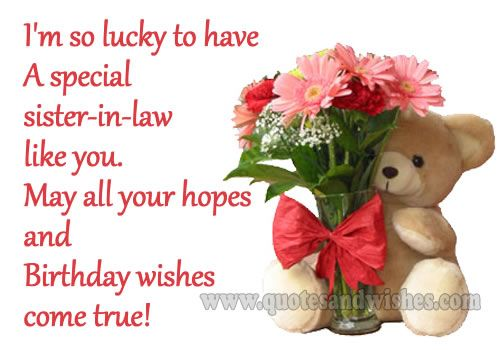 Bildergebnis für Funny Birthday Wishes For Sister In Law