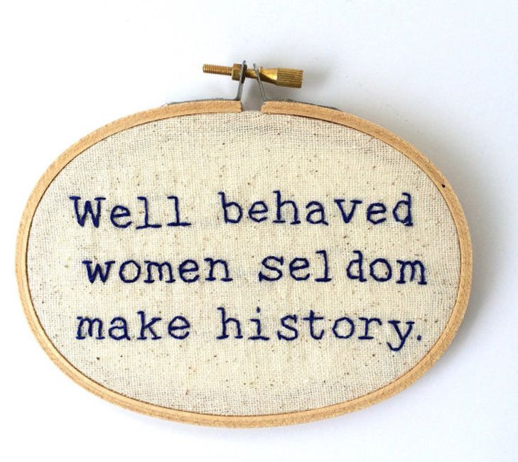 Is your house missing a badass feminist cross stitch? | Stuff.co.nz