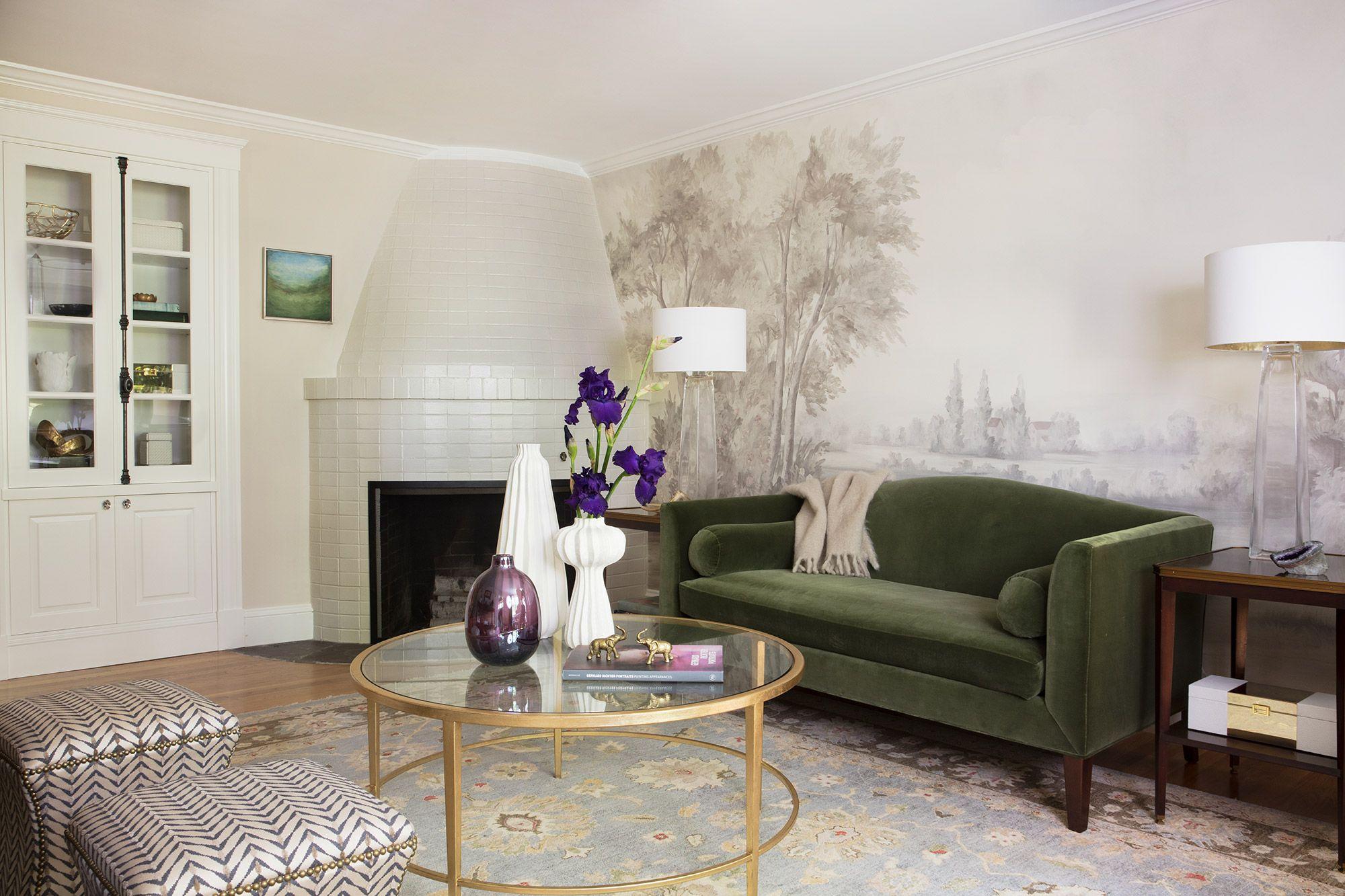 Calmsden Grisaille Sample 12 Susan Harter Muralpapers Living Room Designs Classy Living Room Living Room Murals #sample #living #room #design