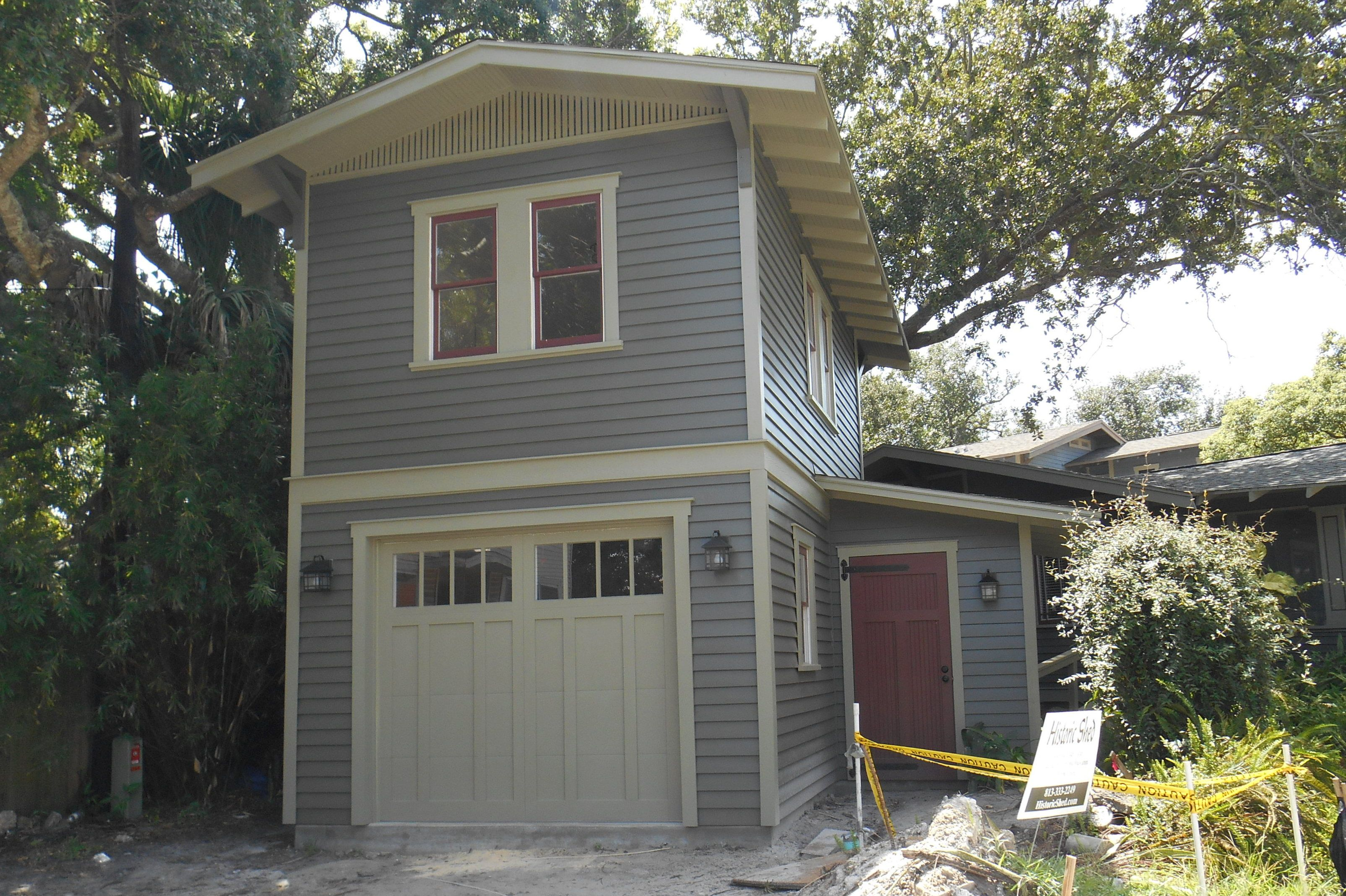 Two Story One Car Garage Apartment Construction Plans  Two Story Garage Apartment Plans