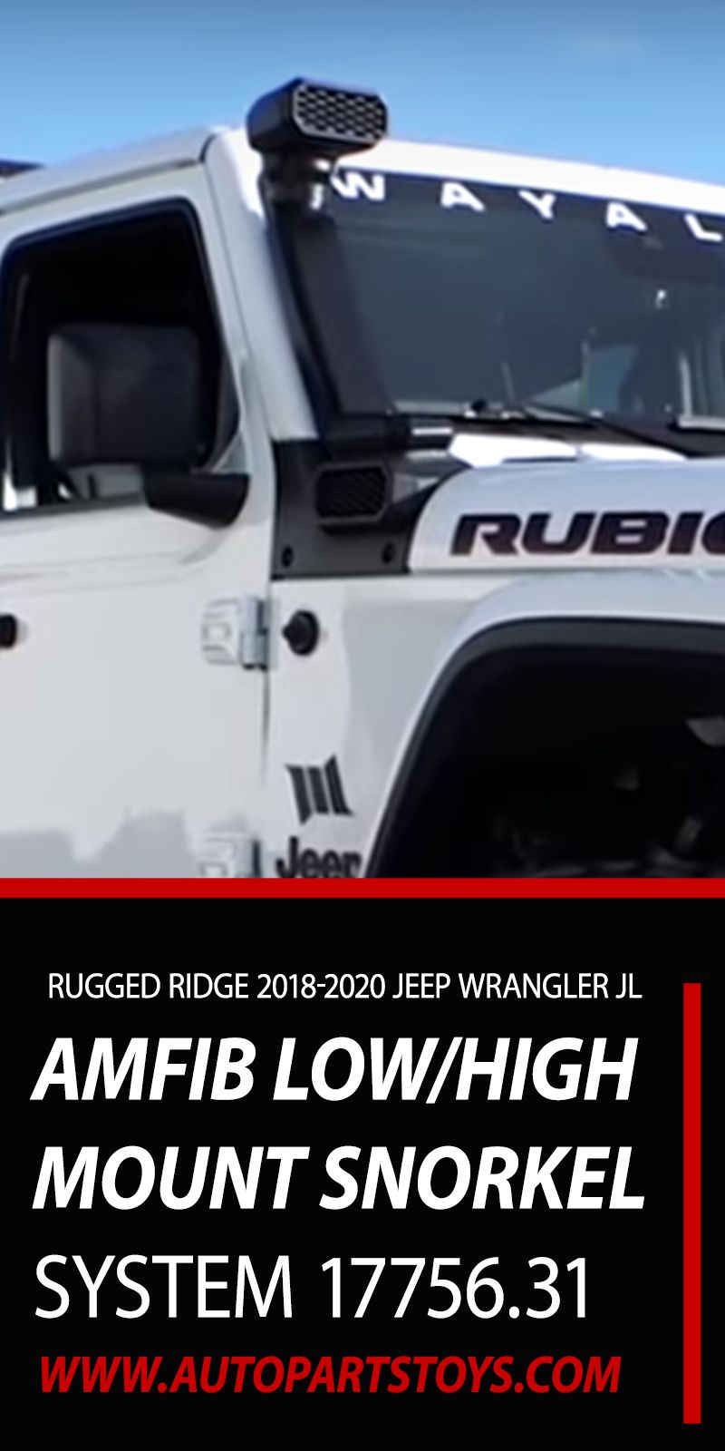 Rugged Ridge 20182020 Jeep Wrangler JL 20202021