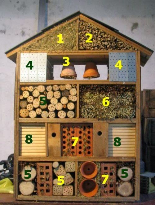 insectenhotel maken | hotel à insectes | pinterest | insect hotel