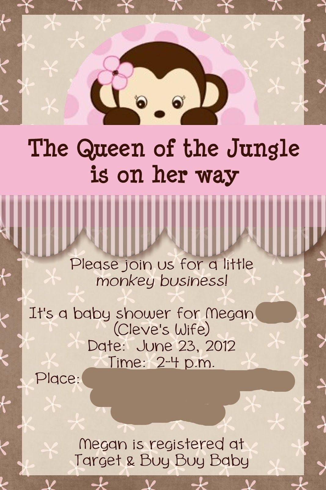 baby shower ideas for girls | Baby Shower {Queen of the Jungle ...