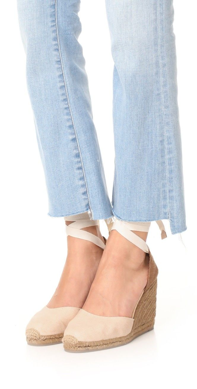 Castaner Net Fabric Wedge Espadrilles | SHOPBOP