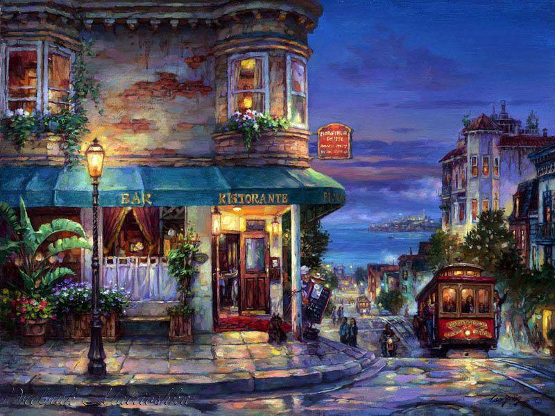 Город художников картинка
