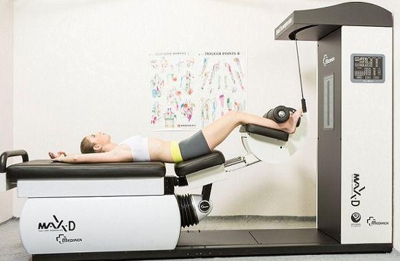 """enfermedad del disco vertebral, hola !, popularidad terapia de calibración de presión """"MAX-D 'como una columna vertebral clínica equipo!"""