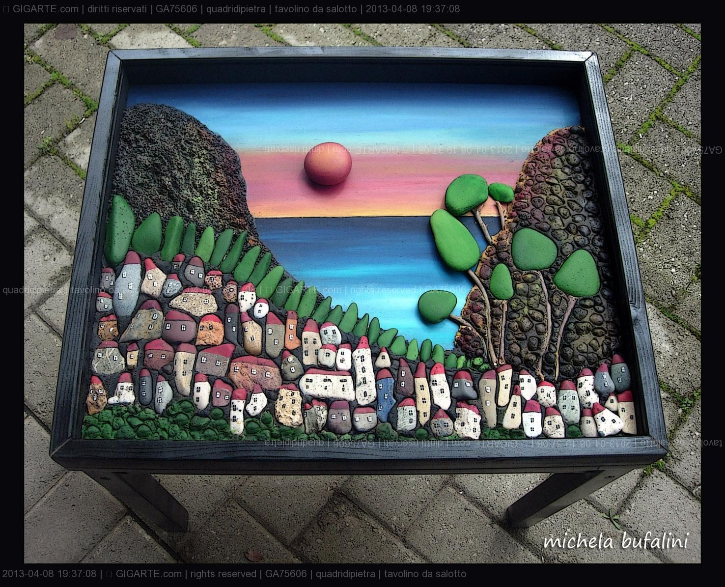 Arredamento Rock ~ Michela bufalini complementi di arredo @gigarte.com pebble art