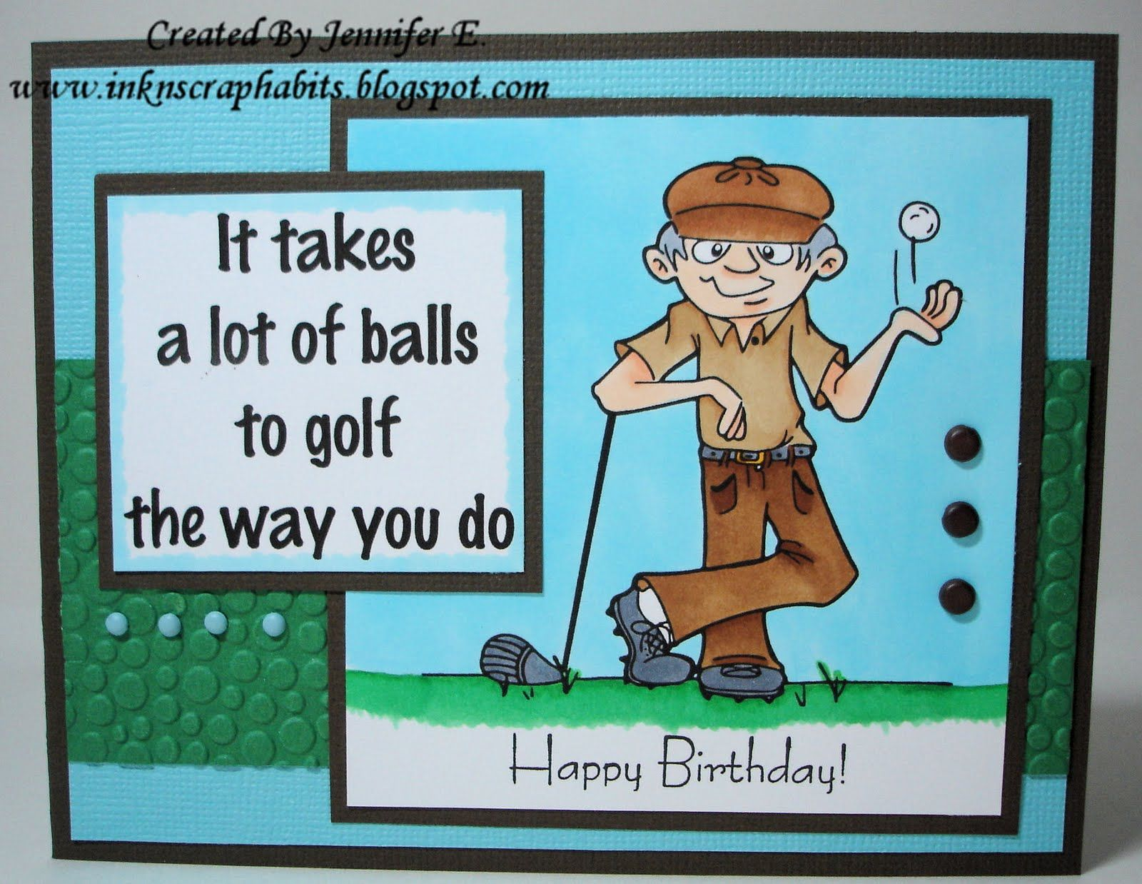 Happy Birthday Golf Ecard Greetings Images