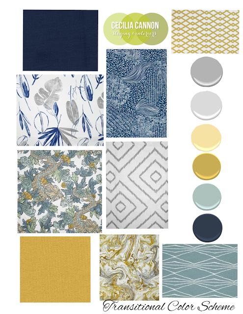 Marvelous Transitional Rustic Interior Color Scheme Design