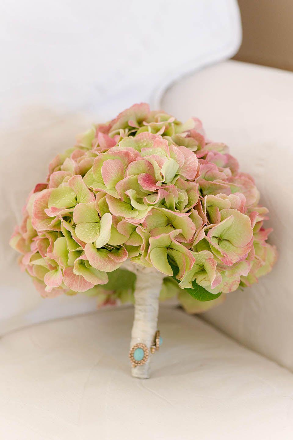 schlichter Brautstrauß Orchidee weiß grün Hochzeit