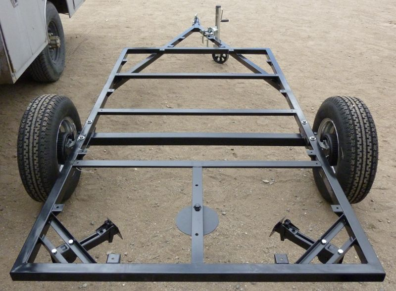 Trailer Frame | TRAILERS | Pinterest | Teardrop trailer, Camping and ...