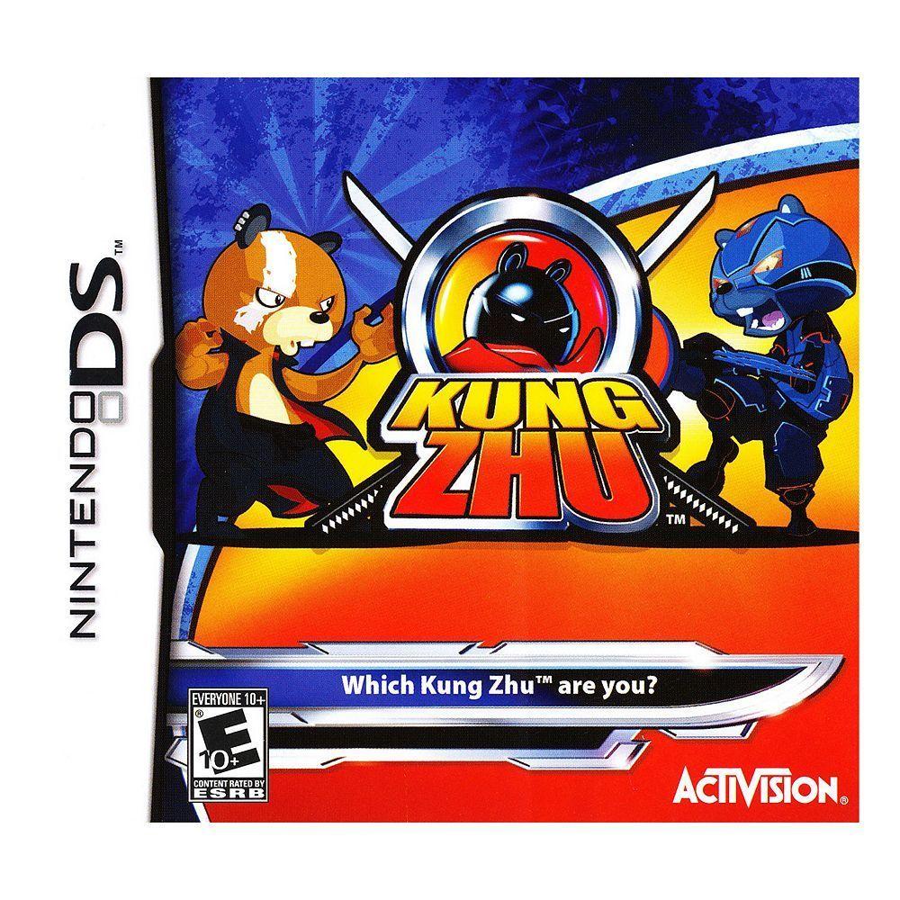 Kung Zhu For Nintendo Ds Multicolor Nintendo Ds Games Nintendo