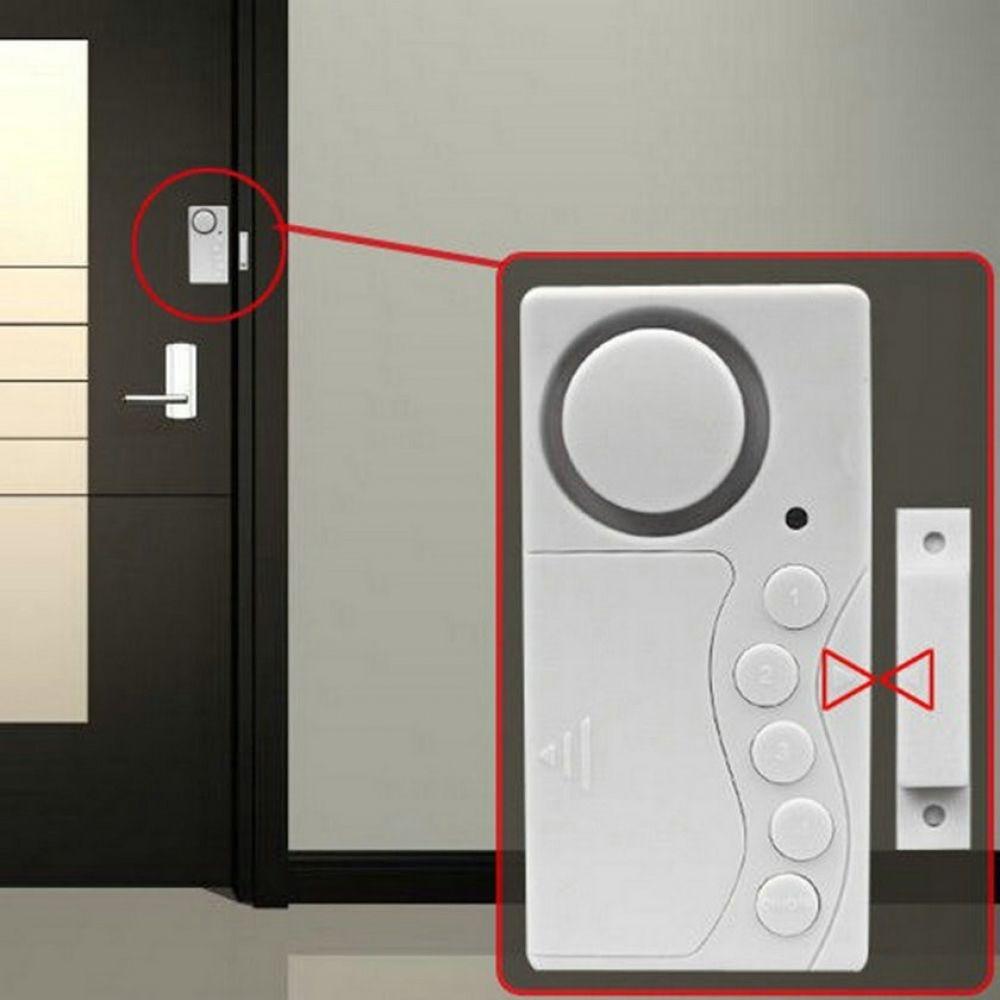 Wireless Home Security Alarm System Door Window Entry Burglar Magnetic Sensor