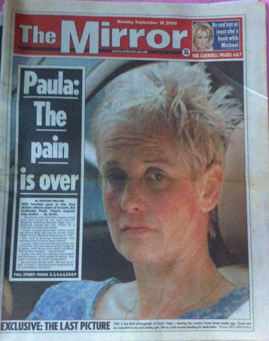 picture Paula Yates Michael Hutchence Naked